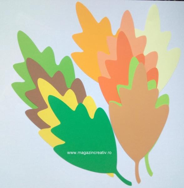 10 frunze toamnă 16 cm 0