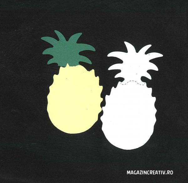 Ananas - set creativ