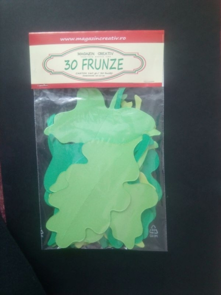30 frunze verzi