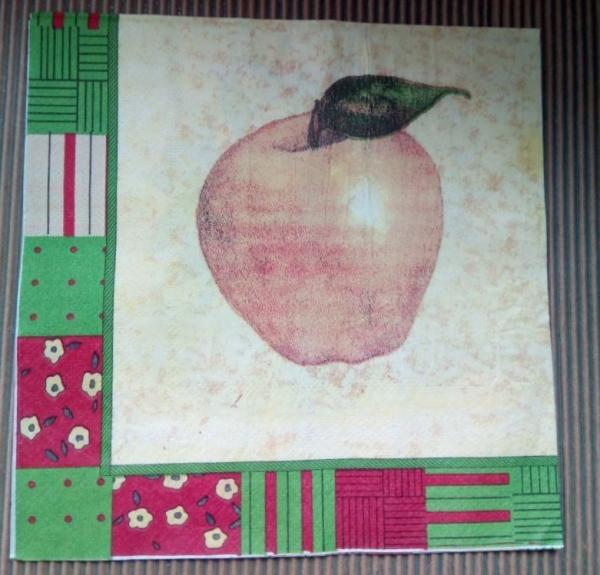 Şerveţel coş cu mere