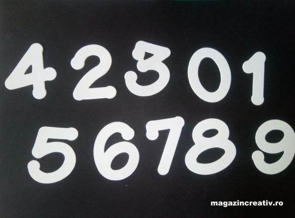 Cifre albe 0