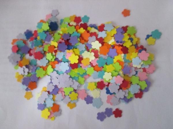 Floricele mici multicolore