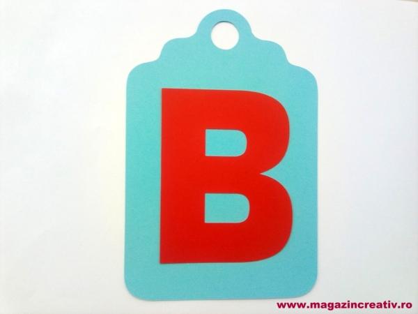 Ghirlandă cu litere sau cifre - 1 element