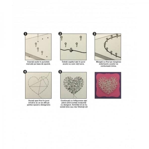 Set creativ - Inimă de ață