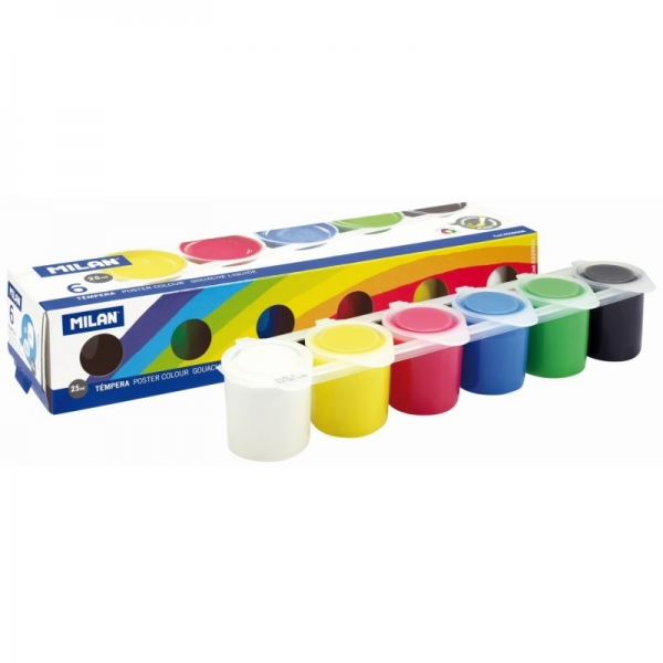 Tempera 6 culori/ 25 ml