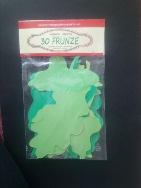 30 frunze verzi 0