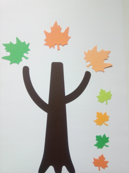 Copacul toamnei - set creativ 2