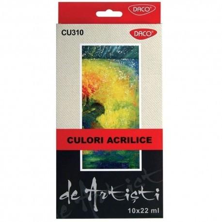 Culori acril 10 culori 22 ml Artist 0