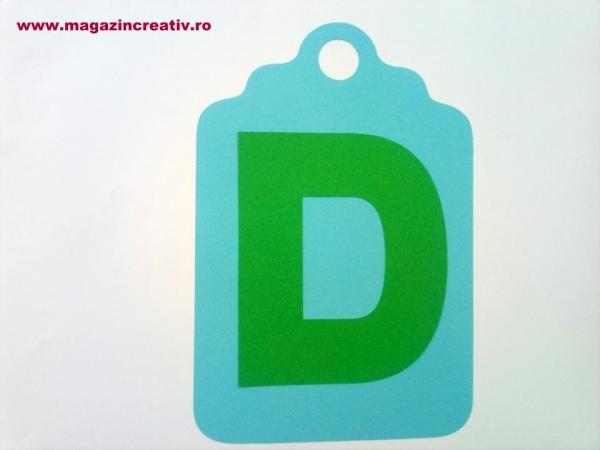 Ghirlandă cu litere sau cifre - 1 element 8