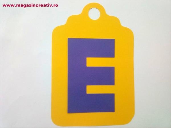 Ghirlandă cu litere sau cifre - 1 element 5