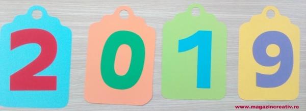 Ghirlandă cu litere sau cifre - 1 element 3